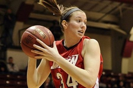 Dayton Flyers wing Justine Raterman is one of the most efficient perimeter scorers eligible for the 2012 WNBA Draft. Howard Smith-US PRESSWIRE