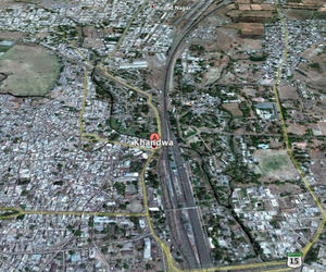 google earth khandwa india