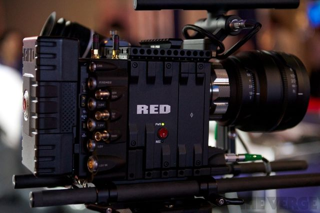 RED camera