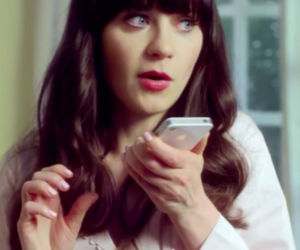 zooey deschanel iphone