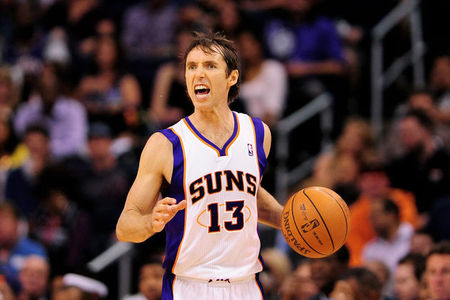 You ready for this game, Suns fans? Steve looks like he's ready to bite someone!