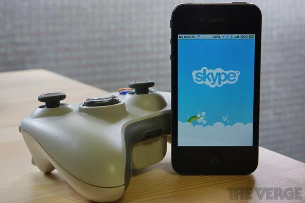 skype xbox