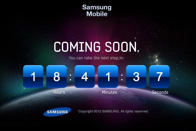 samsung countdown