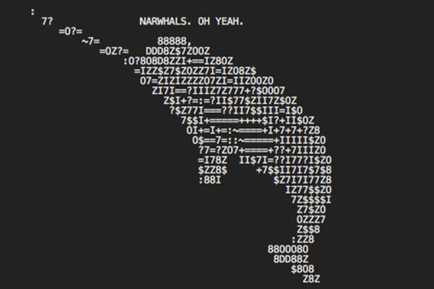 Discovering the hidden ASCII art in the pages of the web