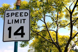 Flickr - speed limit sign