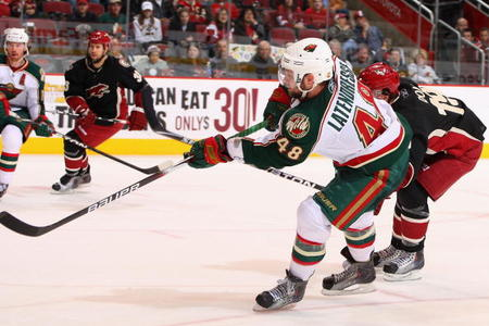 Is Wild Forward Guillaume Latendresse Poised For A Fall?