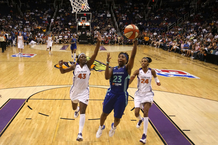 The New York Liberty were exceptional at creating turnovers and scoring in transition in 2011, but other than that they were decidedly average statistically. Photo by Christian Petersen/Getty Images.