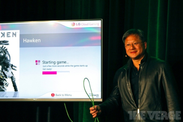 Nvidia CEO GeForce Grid Gaikai stock 1024 cloud gaming