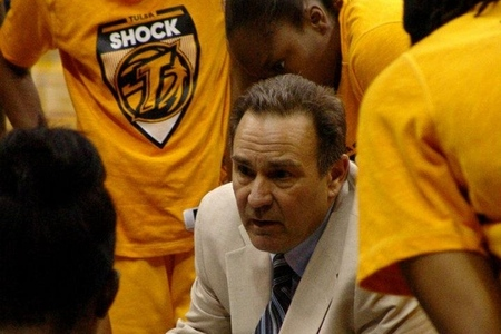 New Tulsa Shock coach Gary Klopppenburg should be judged on his ability to develop the team's talent for the future rather than wins and losses in the present. Photo by Troy Littledeer.