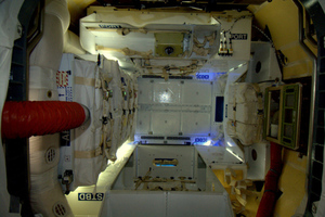 SpaceX Dragon ISS picture