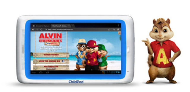 Archos Child Pad Chipmunks