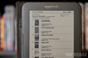 Stephen King Kindle Store selection