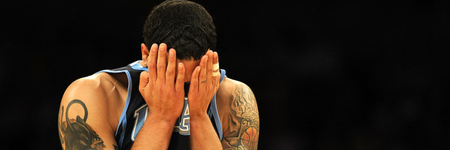 Deron Williams peek-a-boo!