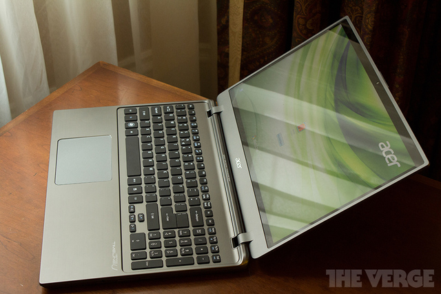 Gallery Photo: Acer Aspire Timeline Ultra M5 hands-on pictures
