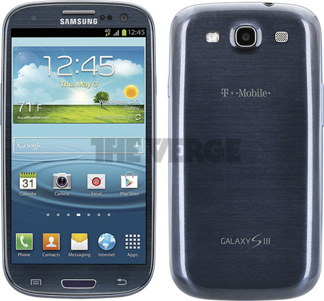Galaxy S III (T-Mobile USA blue)