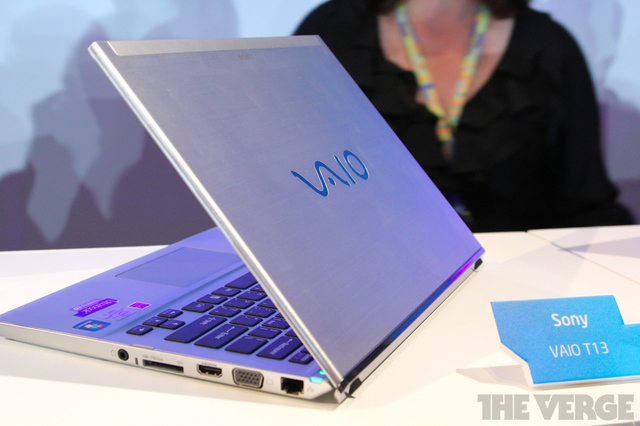Gallery Photo: Sony VAIO T13 hands-on photos