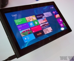 Gallery Photo: Lenovo ThinkPad Windows 8 tablet prototype photos