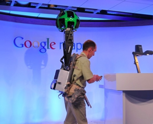 Google Maps Backpack
