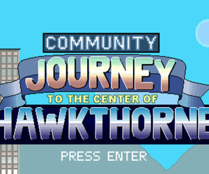 journey to the center of hawkthorne game