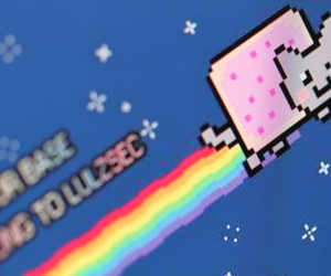 LulzSec nyan cat