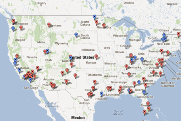 An Interesting Article Public Intelligence Identifies Aerial - Map of us military bases in usa