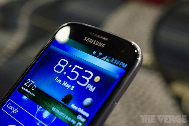 Samsung Galaxy S III Pebble Blue (STOCK)