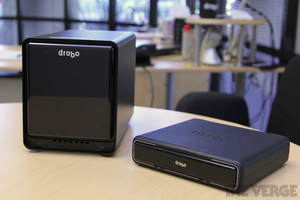 Gallery Photo: Drobo Mini and Drobo 5D hands-on pictures
