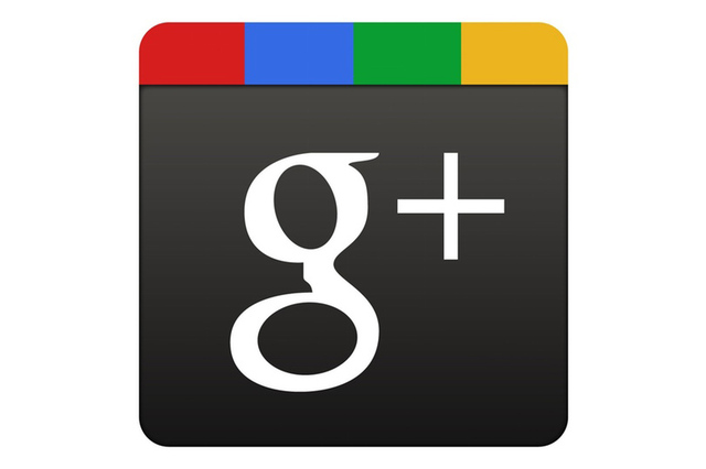 Google plus logo padded