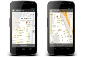 Google Indoor Maps UK