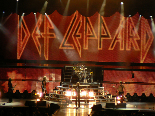 Def Leppard (credit aresauburn, Flickr)