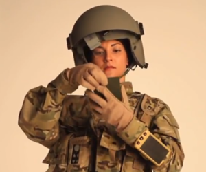 Raytheon wrist-mounted computer