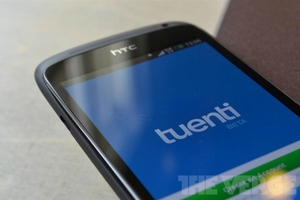 Tuenti Android app screen