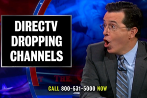 DirecTV Viacom Colbert Report