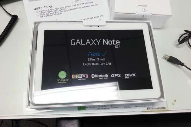 Galaxy Note 10.1 Leak (THE BRAVE POST)