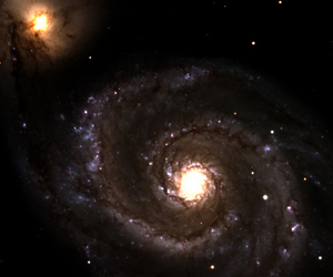 whirlpool galaxy (discovery channel telescope)