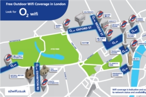 O2 West End Wi-Fi network