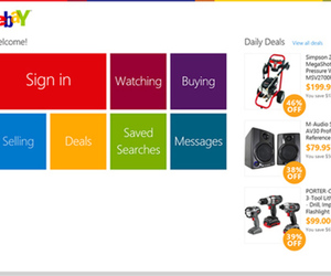 eBay Windows 8