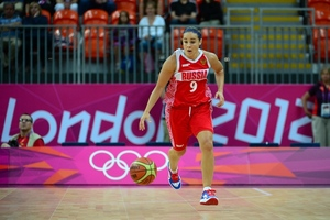 Becky Hammon's second half was just what Russia needed to best Canada in the first day of Olympic action. (Credit: Kyle Terada-USA TODAY Sports)