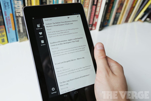 Nexus 7 Instapaper