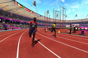 SEGA Olympic game screenshot