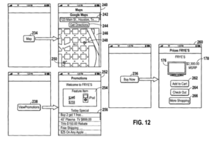 "Apple Patent 2 ""on-the-go shopping lists"""