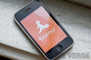 Burner app