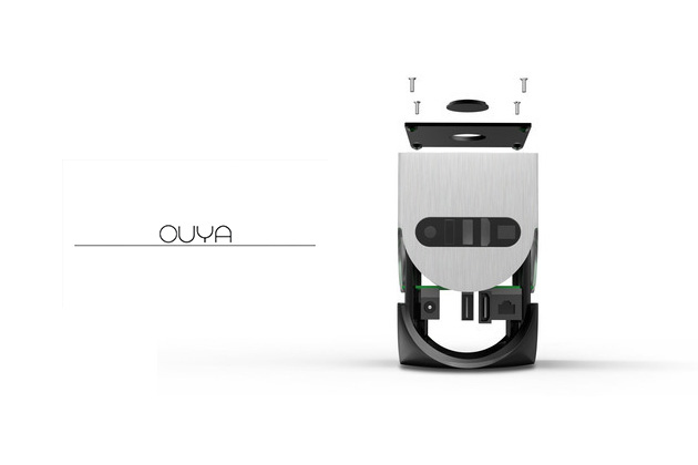 Ouya disassembled