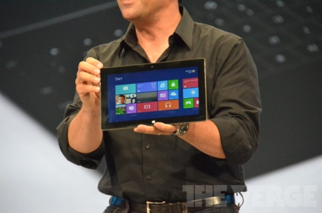 Gallery Photo: Microsoft Surface tablet liveblog pictures