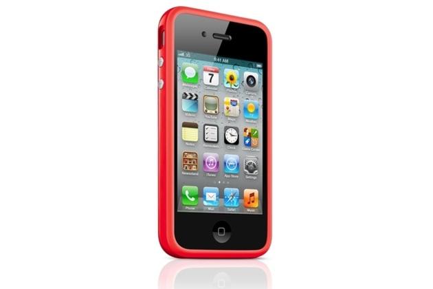 iPhone 4/4S red bumper (big)