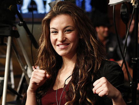Pictured: Miesha Tate. Photo by Esther Lin via MMA Fighting