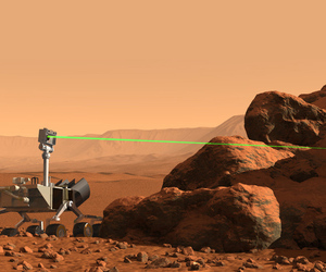 Curiosity rover ChemCam laser