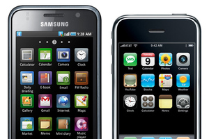 Galaxy S and original iPhone