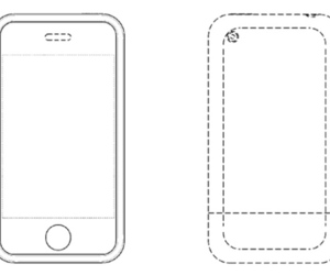 iPhone design patent image
