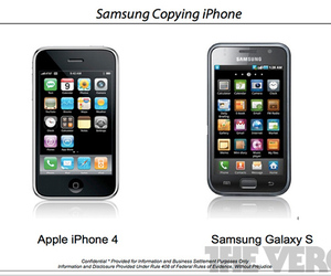 Samsung Copying Apple